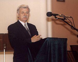 Rektor Uniwersytetu Jagiellońskiego prof. Franciszek Ziejka