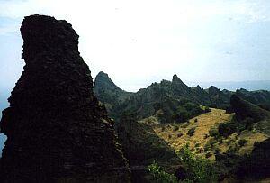 Wygasły wulkan Kara-dah (Czarna Góra)