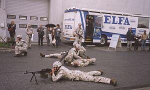 Pokaz sprawności, sprzętu i uzbrojenia Wojsk Lądowych.