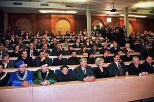 Inauguracja roku akademickiego w Zespole Szkół Wyższych w Rybniku odbyła się tradycyjnie w auli budynku Politechniki Śląskiej