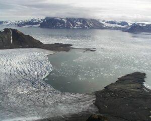 Lodowiec Hansa, Spitsbergen