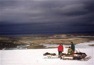 Lodowiec Werenskiolda, Spitsbergen