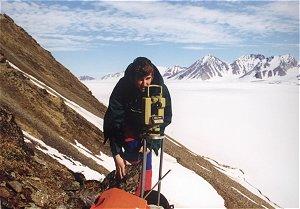 Pomiary dalmierzem laserowym, Spitsbergen