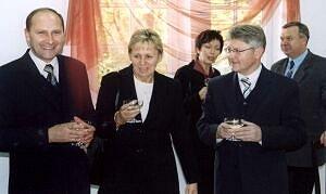 Toast na cześć Ośrodka Działalności Dydaktycznej UŚ w Jastrzębiu