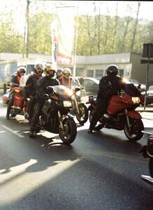 Motocykliści zawsze budzili największe zainteresowanie potencjalnych żeńskich ''ofiar'' Wampiriady