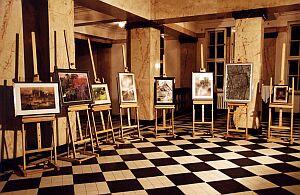 Na aukcję przeznaczono 9 prac plastycznych