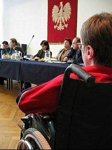 Trzeba, by sami niepełnosprawni odważnie mówili o swoich potrzebach, nie tylko podczas oficjalnych spotkań
