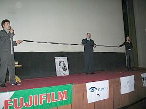 Festiwal uroczyście zainaugurował burmistrz Cieszyna Bogdan Ficek