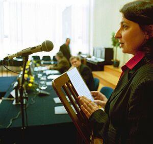 Bernadetta Czerska, zastępca dyrektora Departamentu Zasobów Wodnych Ministra Środowiska