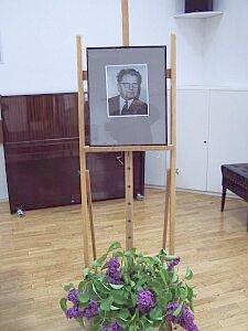 Portret prof. zw. dr. hab. Józefa Pietera