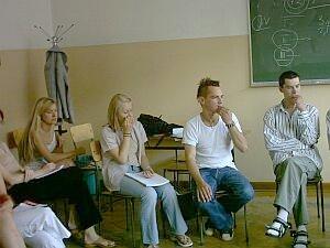 Uczestnicy szkolenia na Wydziale Filologicznym