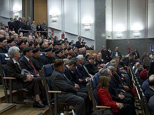 Na inaugurację nowego roku akademickiego licznie przybyli pracownicy Uczelni, studenci oraz zaproszeni goście