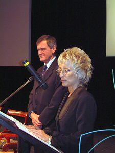 Lechosław Jarzębski i Małgorzata Ochęduszko-Ludwik