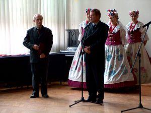Prowadzący uroczystość JM Rektor