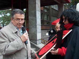 Prorektor ds. Ogólnych prof. zw. dr hab. Jerzy Zioło