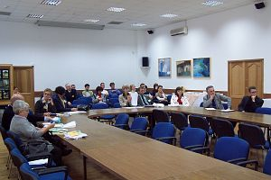Zasłuchani i zamyśleni uczestnicy konferencji