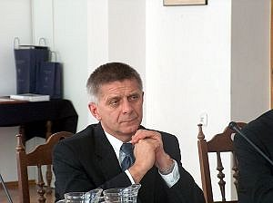 Prezes Rady Ministrów prof. Marek Belka