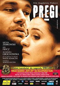 Plakat z filmu ''Pręgi'' Magdaleny Piekorz