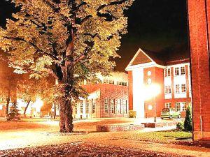 Kampus w Rybniku dobrze prezentuje się nie tylko w dzień, ale także nocą