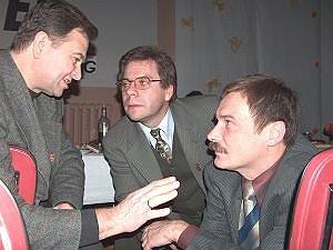 Od lewej: Witold Firak, Jacek Frentzel, Maciej Rzońca (były Redaktor Naczelny Egidy)
