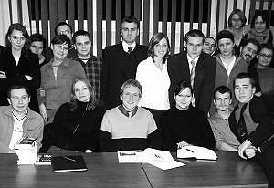 Wybrani niedawno członkowie rad Samorządu Studenckiego