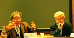 Prof. Antonio Prete i prof. Pietro Clemente