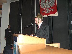 Druh Józef Bańka - z dyplomem