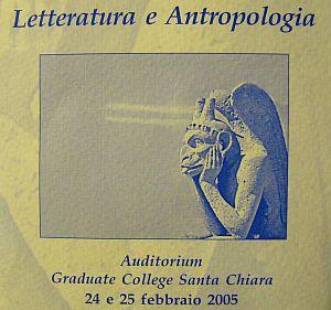 Letteratura e Antropologia