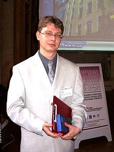mgr Bartłomiej Łódzki z Uniwersytetu Wrocławskiego