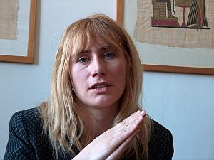 dr Aleksandra Kunce - redaktor naczelna pisma 'Anthropos?'