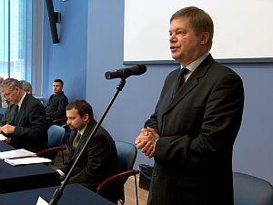 Prof. dr hab. Janusz Janeczek przedstawił swój program na najbliższą kadencję