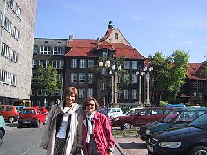 Prof. dr hab. Małgorzata Anna Packalen z Uniwersytetu w Uppsali i prof. dr hab. Elwira Grossman z Uniwersytetu w Glasgow