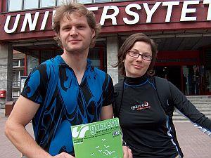 Paweł Bieniasz i Monika Świstowska