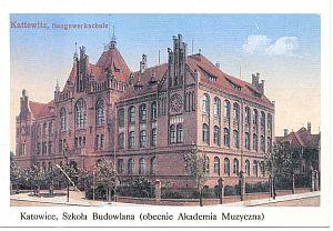 Szkoła Budowlana (obecnie Akademia Muzyczna)