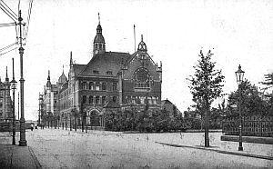 Gimnazjum przy August Schneiderstrasse (obecnie ul. Mickiewicza)