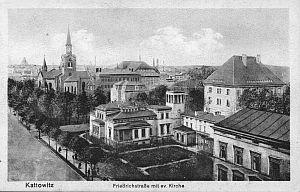 Friedrichstrasse (obecnie  ulica Warszawska)