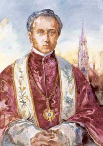 Ks. Emil Szafranek - akwarela Ireneusza Botora