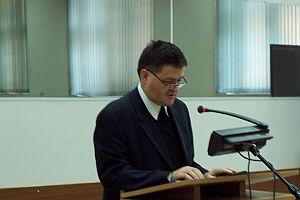 Otwarcia konferencji dokonał ks. prof. dr hab. Józef Budniak