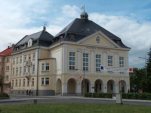 Budynek Rektoratu Uniwersytetu Śląskiego w Opawie