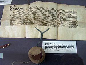 Zgoda Kazimierza Jagiellończyka na założenie klasztoru oo. paulinów na Skałce z 9 lipca 1472 roku