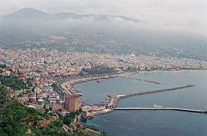 Antalya - miejscowość turystyczna na riwierze tureckiej