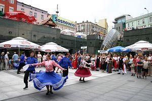 Koncert na sosnowieckiej 'Patelni' (pl. Stulecia)