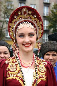 Przedstawicielka zespołu z Rosji