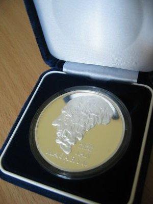 Srebrny Medal Jana Masaryka