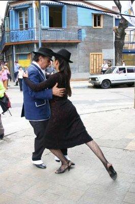 La Boca - tu wciąż na ulicach tańczy się tango