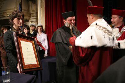 Prof. zw. dr hab. Andrzej Radziewicz-Winnicki - laureat tegorocznej nagrody Pro Scientia et Arte