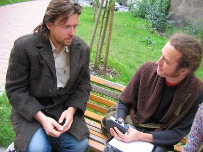 Redaktor Wojciech Stupnicki rozmawia z Filipem Remudą reżyserem filmu 'Czeski sen'