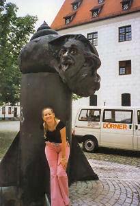 Fontanna Einsteina w Ulm