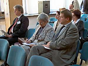 prof. Bruce D. MacQueen, prof. Zofia Ratajczyk, JM prof. Janusz Janeczek