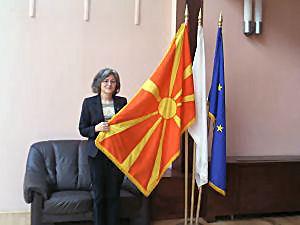 Dr Jolanta Tambor, zastępcca dyrektora Szkoły Języka i Kultury Polskiej